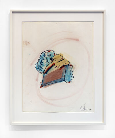 Claes Oldenburg, '7-Up Pie', 1972