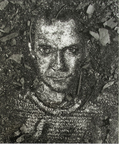 Vik Muniz, 'Self Portrait (From Pictures of Soil)', 1999