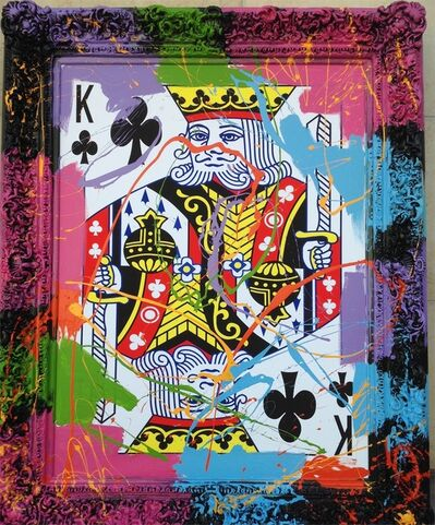 Elena Bulatova, 'King of Clubs', 2019