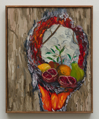 Morgan Mandalay, 'Still Life with Pomegranate, Lemon, Pear, Apple, Orange and Fly (After Courbet)', 2018