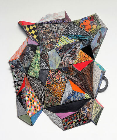 TIFFANY SCHMIERER, 'Patternscape: Facets 3', 2013