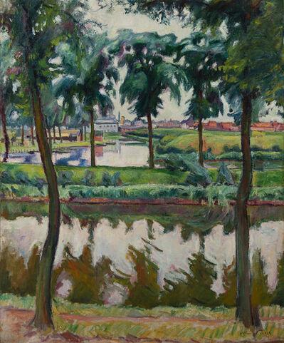 Emile Othon Friesz, 'Canaux à Anvers', 1906