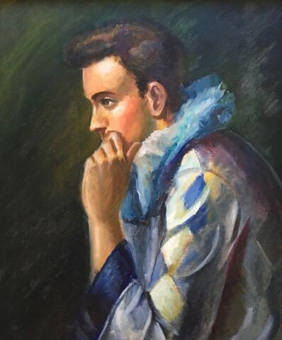 Alvin Ross, 'Self Portrait with Robe', 1938