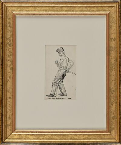 Edward Hopper, 'Even the Worm Will Turn', ca. 1900