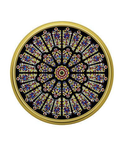 Damien Hirst, 'The Rose Window, Durham Cathedral', 2008
