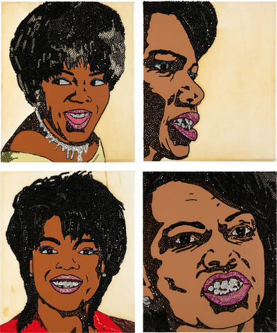 Mickalene Thomas, 'Four Works: When Ends Meet #2', 2007