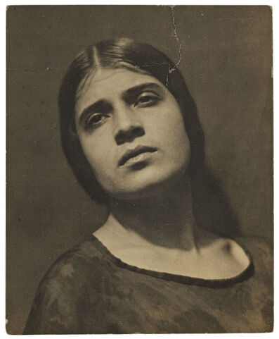 Edward Weston, 'Tina Reciting', 1924
