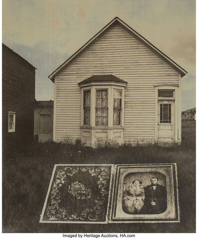 Jerry Uelsmann, 'Untitled (Cased photograph and house)', 1969