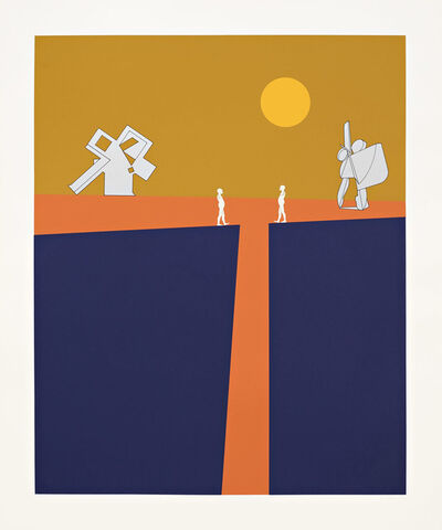 Ernest Trova, 'Series Seventy-Five (Print Three)', 1975