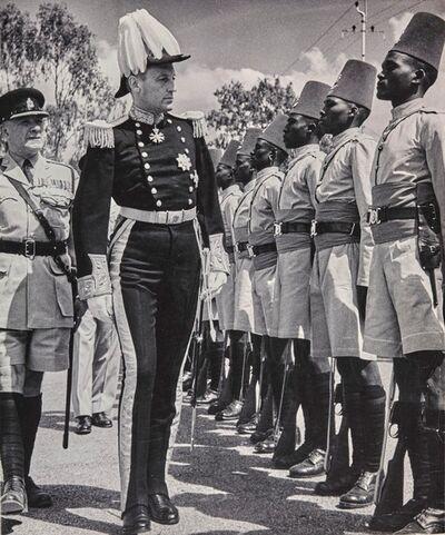 George Rodger, 'Sie Evelys Barring, gouvernateur du Kenya', 1953