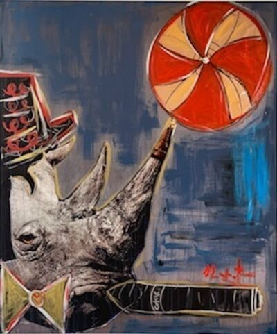 Domingo Zapata, 'Rhino', 2018