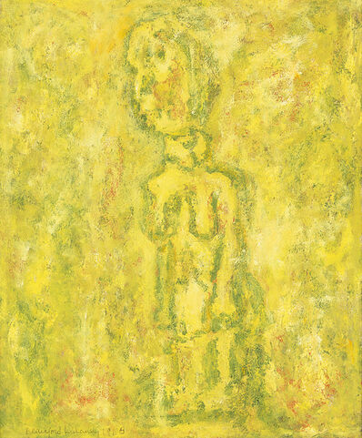 Beauford Delaney, 'Untitled (African Figure)', 1968