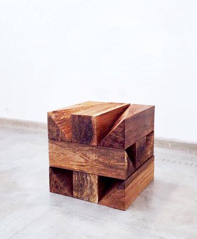 Aldo Chaparro, 'Rethinking Carl Andre TRABUN (1977) II', 2015