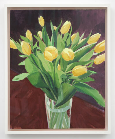 Sebastian Blanck, 'Yellow Tulips', 2014