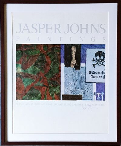 Jasper Johns, 'Jasper Johns Paintings (Hand Signed) from the Estate of Aviva and Jacob Bal Teshuva', 1984