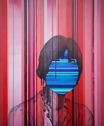 Yi-Hsin Tzeng, 'Red and Blue', 2016