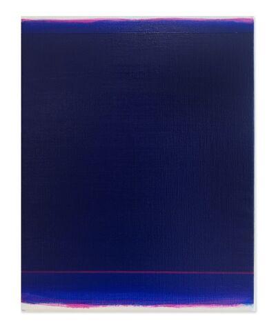 Shingo Francis, 'Veil (cobalt-magenta)', 2015