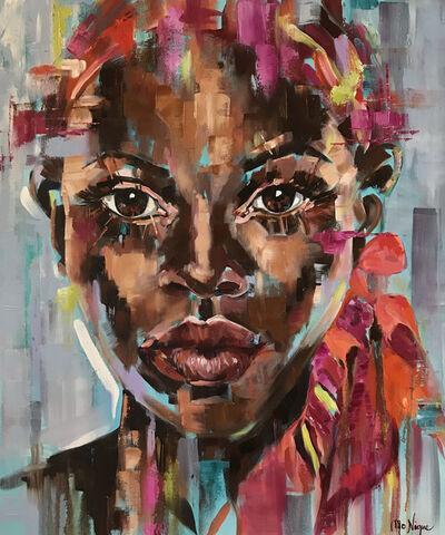 Mo Nique, 'Beauty draped in colour', 2019