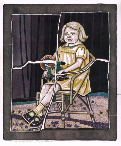 Julie Roberts, 'Girl with Rascist Doll', 2011