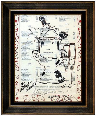 LeRoy Neiman, 'Champagne on Ice', 1980