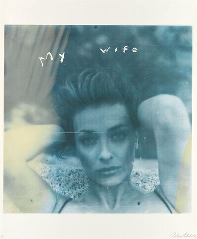 Julian Schnabel, 'My Wife', 1988