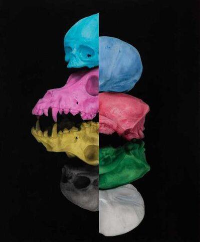 Luigi Fantini, 'Craneo CMYK RGB 2', 2020