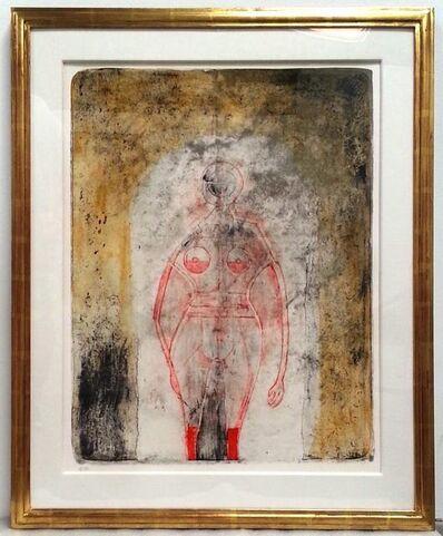 Rufino Tamayo, 'Femme en Rouge', 1969