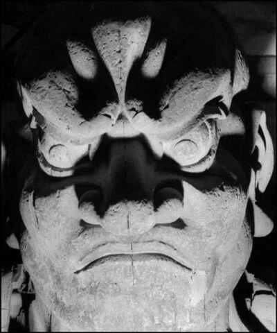Werner Bischof, 'JAPAN. Town of Nara. Todaiji Temple', 1951