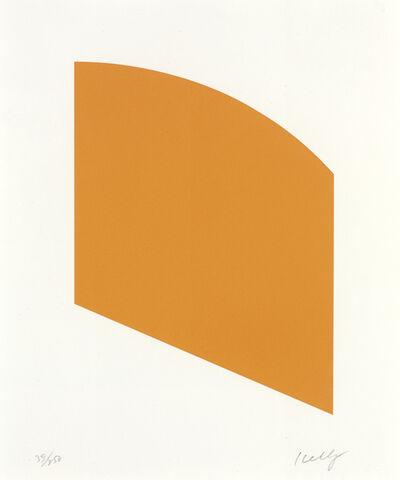Ellsworth Kelly, 'Orange', 2004