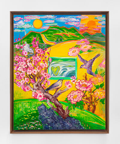 Kim Yongchul, 'Spring - Birds and Flowers', 2013