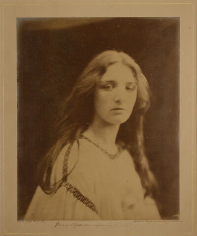 Julia Margaret Cameron, 'Mary Ryan', 1865-1866