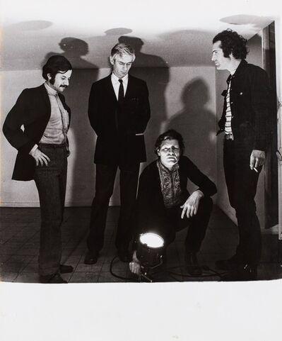 Plinio De Martiis, 'Angeli, Bonito Oliva, Castellani, Pascali', 1968