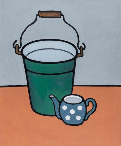 Anya Zholud, 'Dictionary of Basic Happiness: Tea and Bucket', 2020