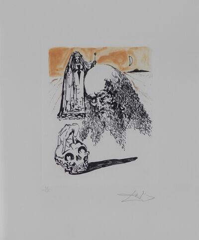 Salvador Dalí, 'La Vida es Sueno Viellart Tete de Mort ', 1973