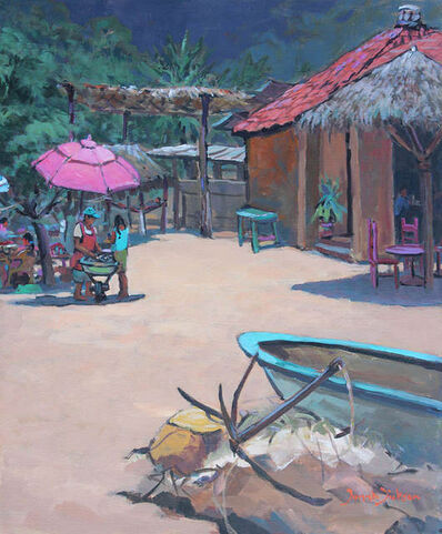 Donna Dickson, 'Playa Mexicana (Los Ayala)'