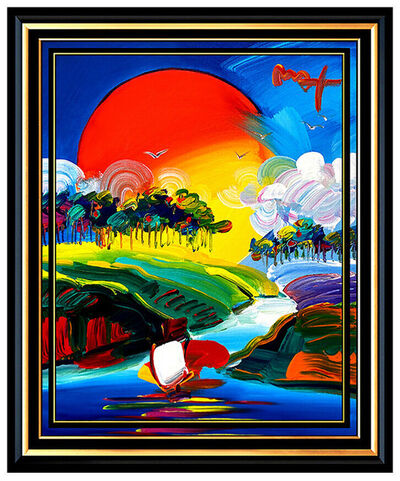 Peter Max, 'WITHOUT BORDERS', 21st Century