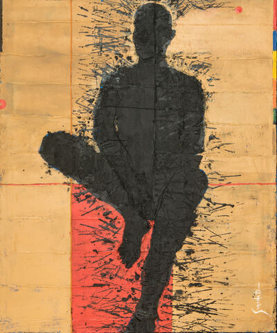 Luis Granda, 'Personaje Sentado', N/A