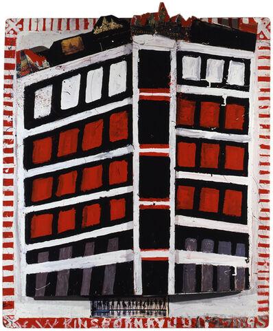 William Hawkins, 'Deshler Hotel no. 4', 1988