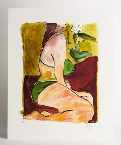 Bob Dylan, 'Bob Dylan Woman on a Bed signed Giclee Etching - Contemporary Art', 2008