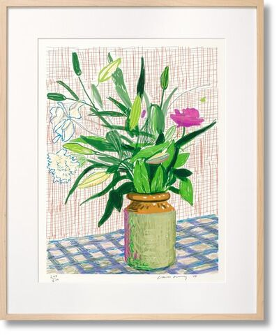 David Hockney, 'David Hockney ipad Taschen Art 'Edition D ', 2010