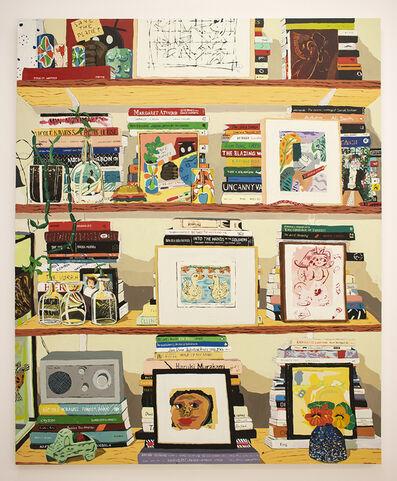 Hilary Pecis, 'Adrienne's Bookshelf ', 2020