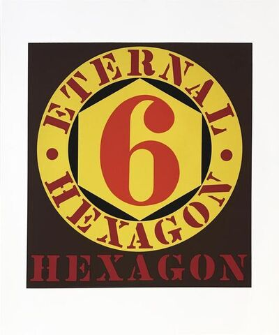 Robert Indiana, 'Eternal Hexagon from Ten Works by Ten Painters portfolio', 1964