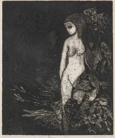 Betye Saar, 'Sorceress & Seven Assorted Birds', 1964