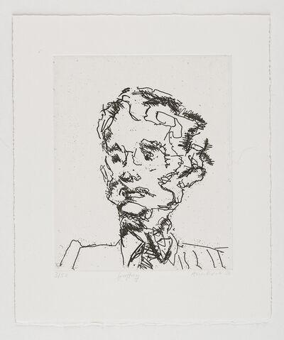 Frank Auerbach, 'Geoffrey', 1990