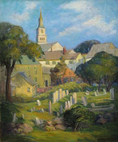 Elizabeth Lobingier, 'Rockport Graveyard   ', 19th -20th Century
