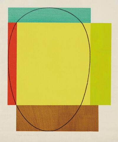 Robert Mangold, 'Five Color Frame', 1985