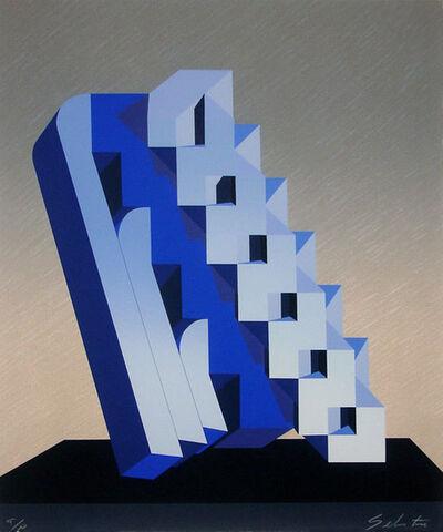 Sebastián, 'Blue Cosmic Ladder', 1992