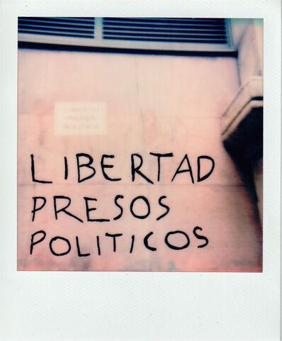 Iván Candeo, 'Libertad presos políticos. Momento cualquiera', 2018