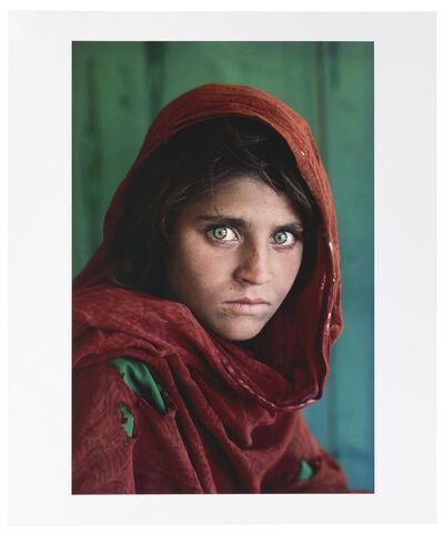 Steve McCurry, 'Sharbat Gula, Afghan Girl, Pakistan', 1984