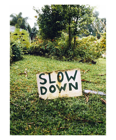Gustavo Ten Hoever, 'Slow Down', 2006